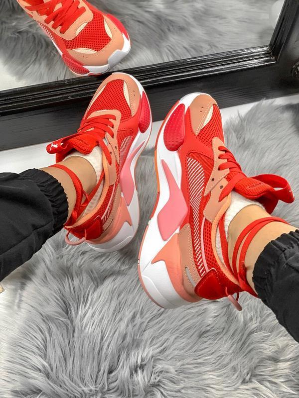 Шикарные женские кроссовки puma rs-x transformers - Фото 3