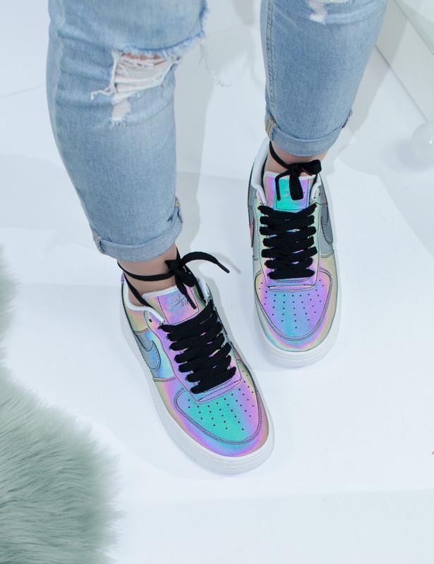Шикарные женские кроссовки nike air force - Фото 2