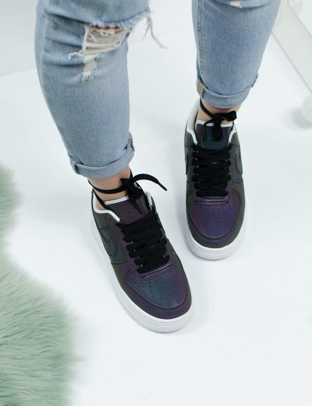 Шикарные женские кроссовки nike air force - Фото 4