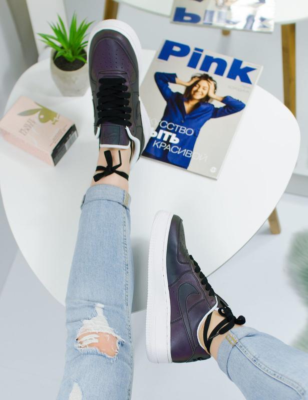 Шикарные женские кроссовки nike air force - Фото 5