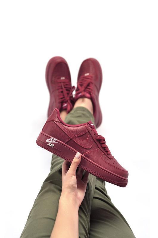 Шикарные женские кроссовки nike air force 1 low