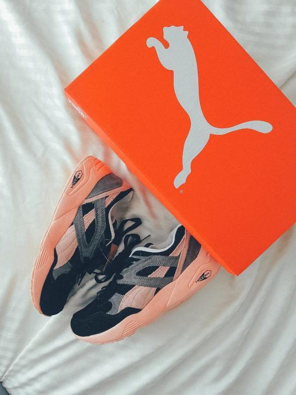 Шикарные женские кроссовки puma trinomic - Фото 2