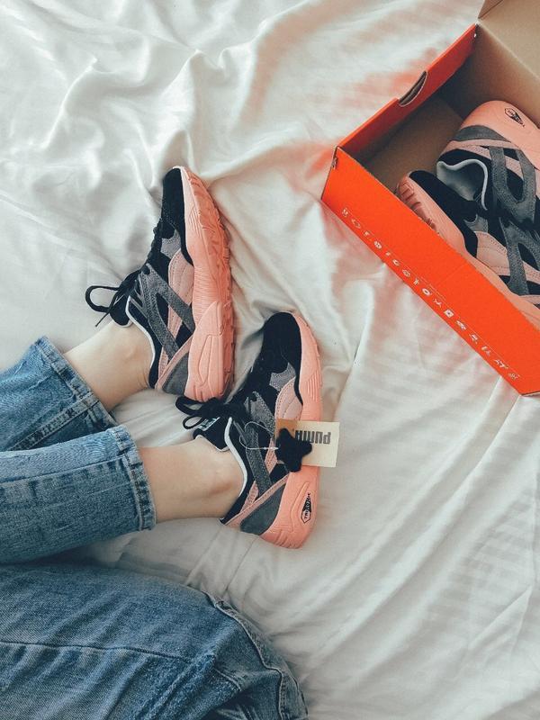 Шикарные женские кроссовки puma trinomic - Фото 5