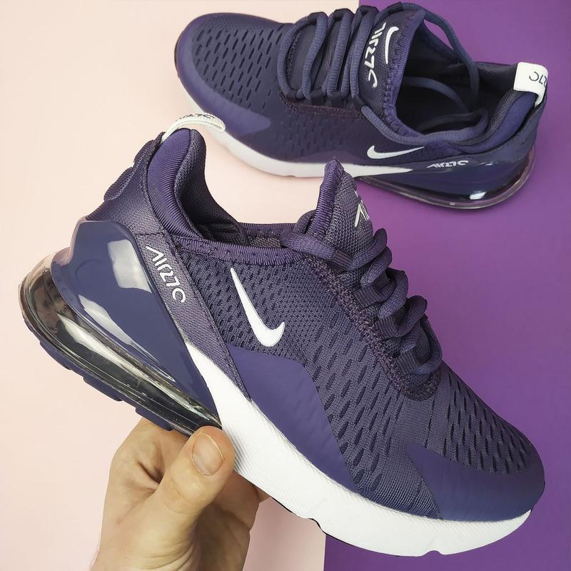 Шикарные женские кроссовки nike air max 70 purple