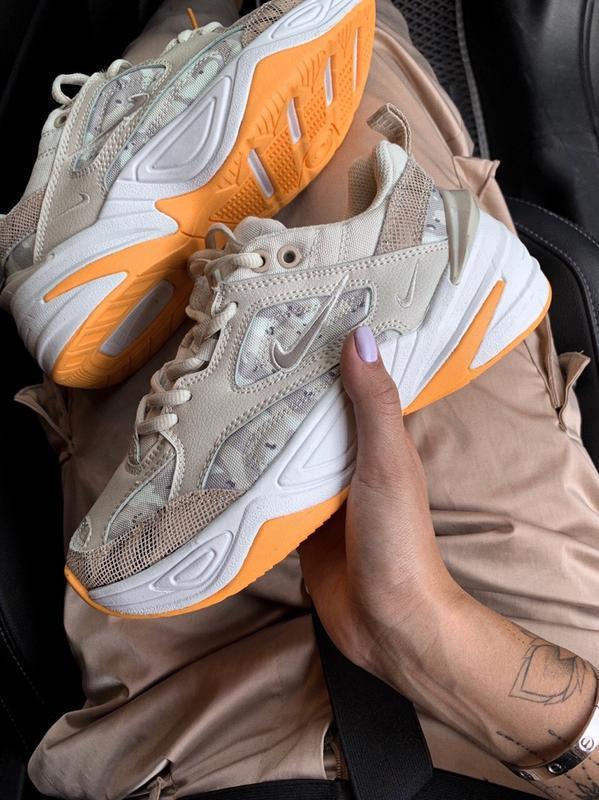 Шикарные кроссовки nike m2k tekno gray