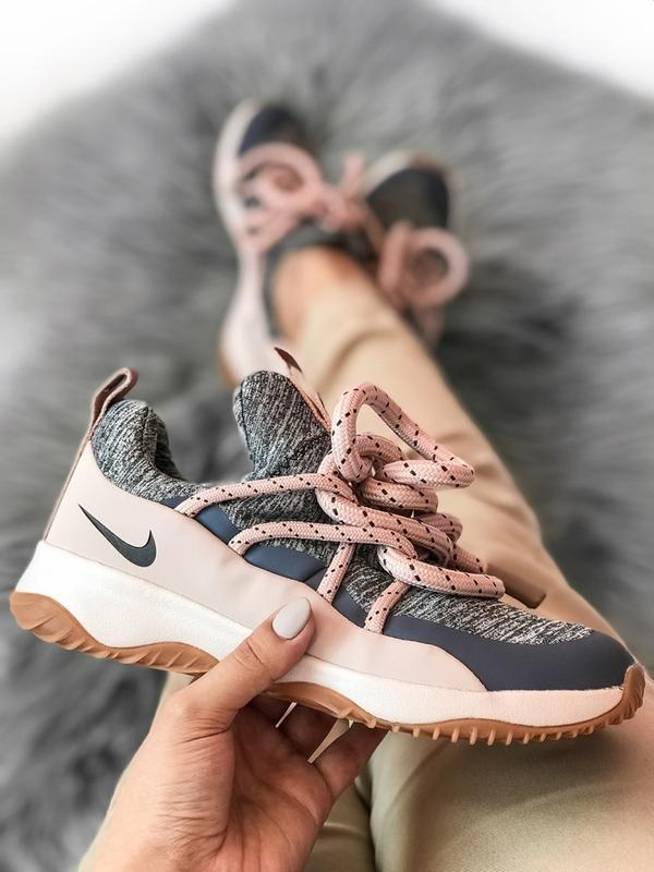 Шикарные женские кроссовки nike city loop pink