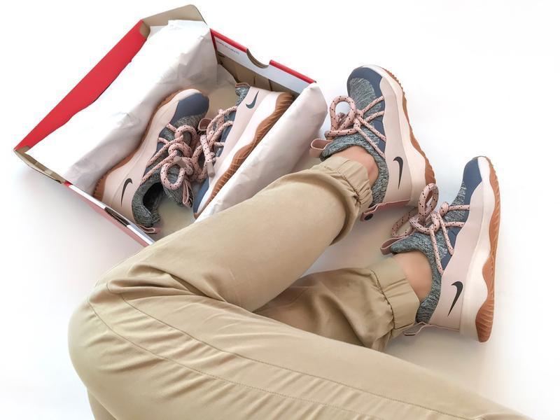 Шикарные женские кроссовки nike city loop pink - Фото 2