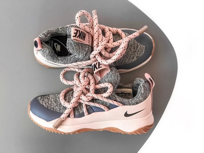 Шикарные женские кроссовки nike city loop pink - Фото 6
