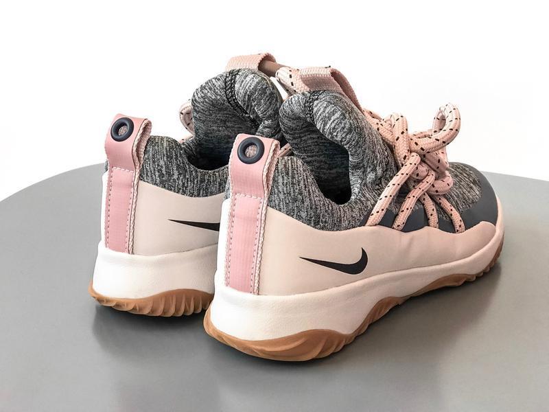 Шикарные женские кроссовки nike city loop pink - Фото 7