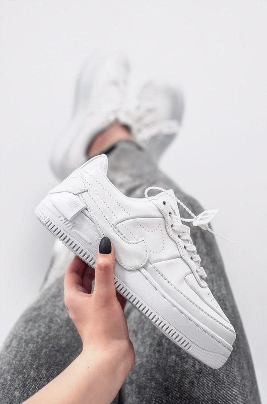 Шикарные женские кроссовки air force jester  white