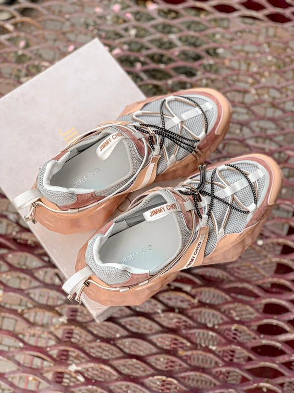 Шикарные женские кроссовки jimmy choo - Фото 7