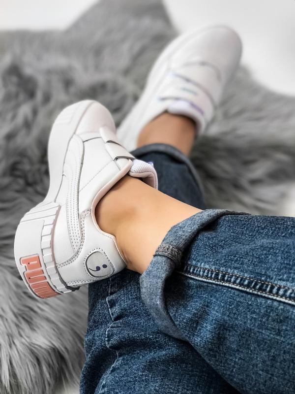 Шикарные женские кроссовки puma sg cali - Фото 4