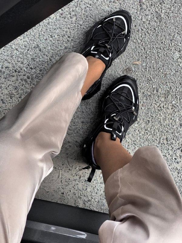 Шикарные женские кроссовки jimmy choo - Фото 5