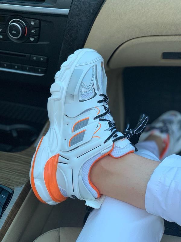 Шикарные женские кроссовки balenciaga track - Фото 2