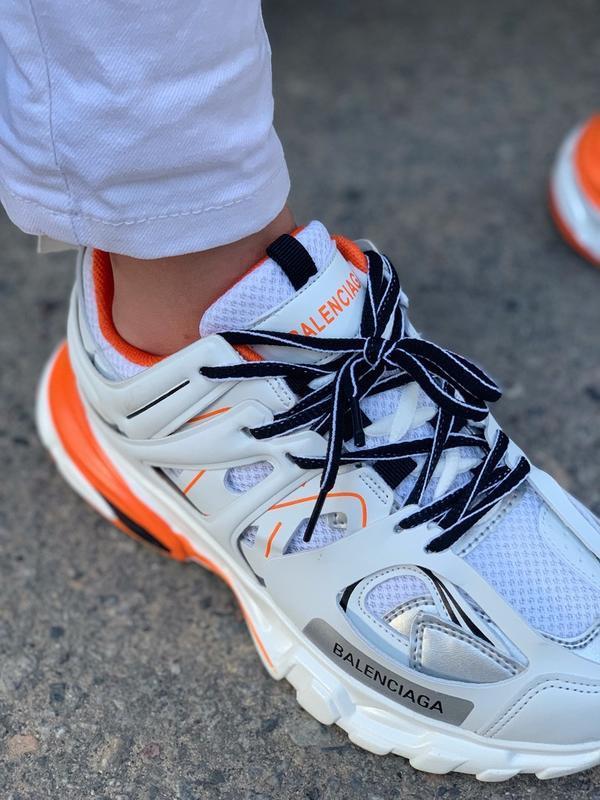 Шикарные женские кроссовки balenciaga track - Фото 3