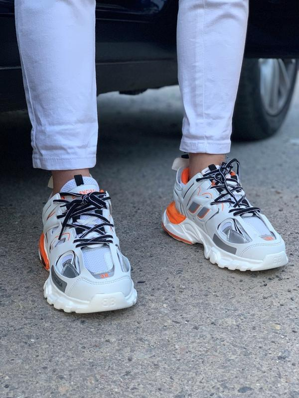 Шикарные женские кроссовки balenciaga track - Фото 4