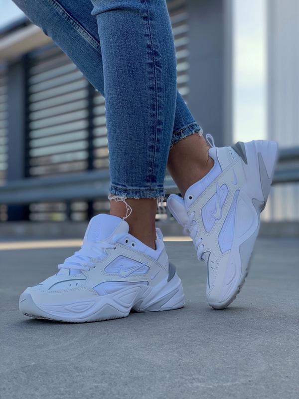 Шикарные  кроссовки m2k tekno white