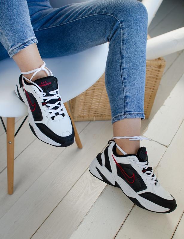 Шикарные женские кроссовки nike air monarch - Фото 3