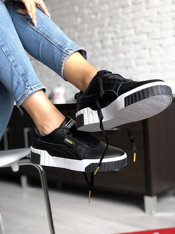 Шикарные женские кроссовки puma cali - Фото 2