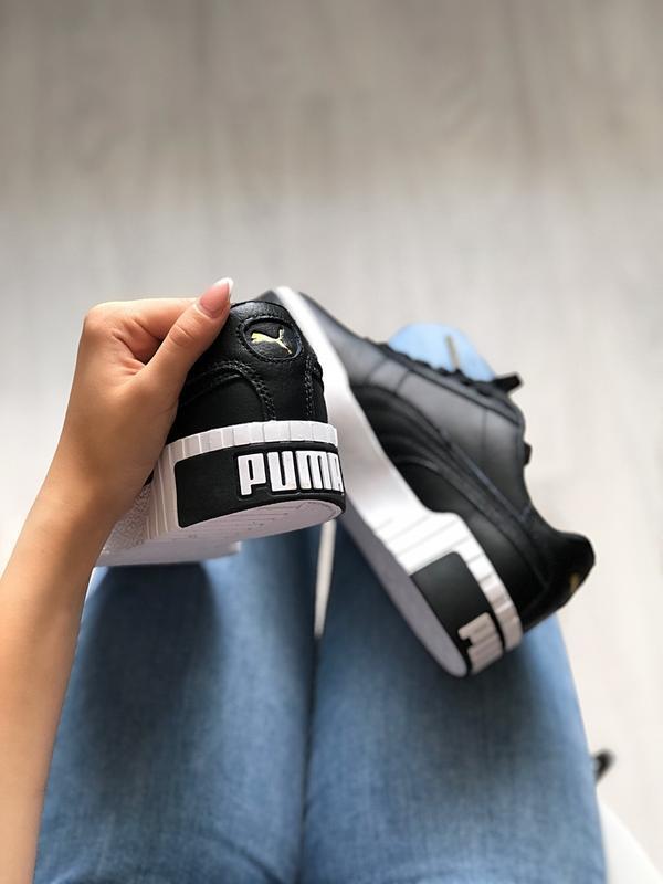 Шикарные женские кроссовки puma cali - Фото 5