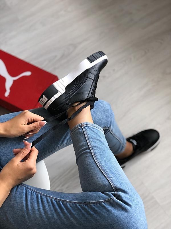 Шикарные женские кроссовки puma cali - Фото 7