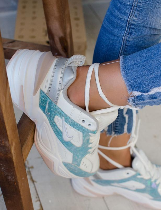 Шикарные женские кроссовки nike m2k tekno - Фото 2