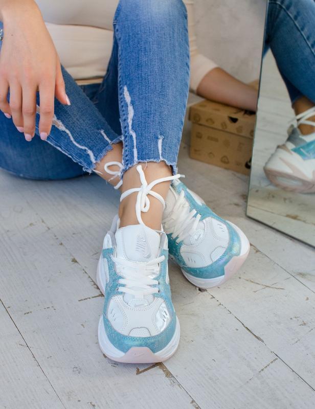 Шикарные женские кроссовки nike m2k tekno - Фото 4