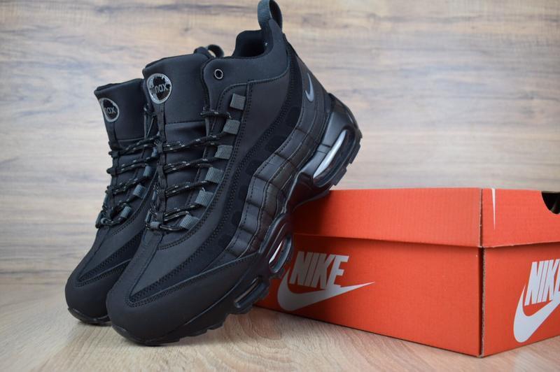 Шикарные мужские зимние кроссовки nike air max  sneakerboot 95