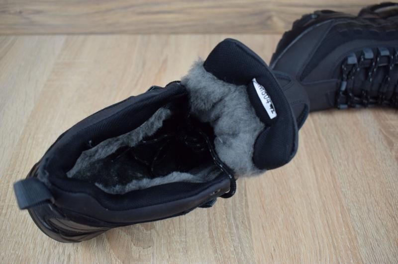 Шикарные мужские зимние кроссовки nike air max  sneakerboot 95 - Фото 5