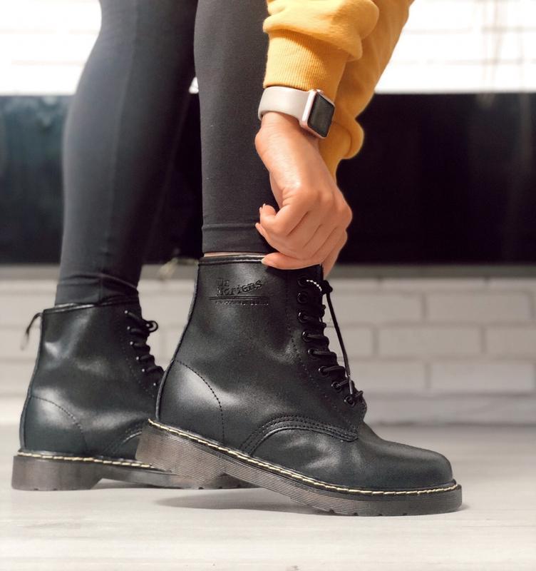 Шикарные женские осенние ботинки dr.martens