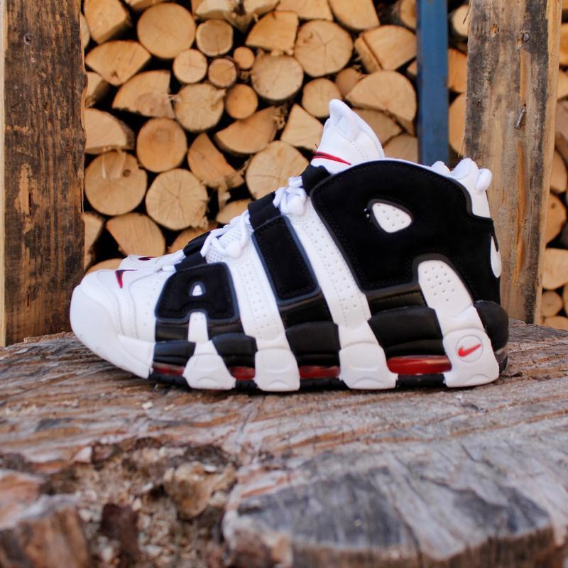 Шикарные  кроссовки унисекс  nike air more uptempo