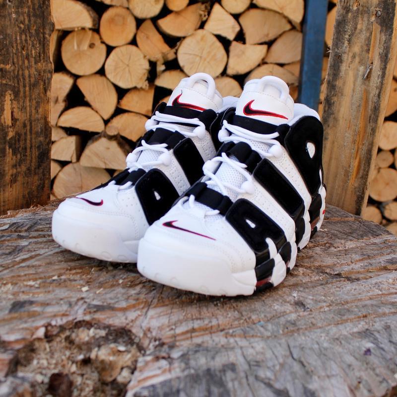 Шикарные  кроссовки унисекс  nike air more uptempo - Фото 2