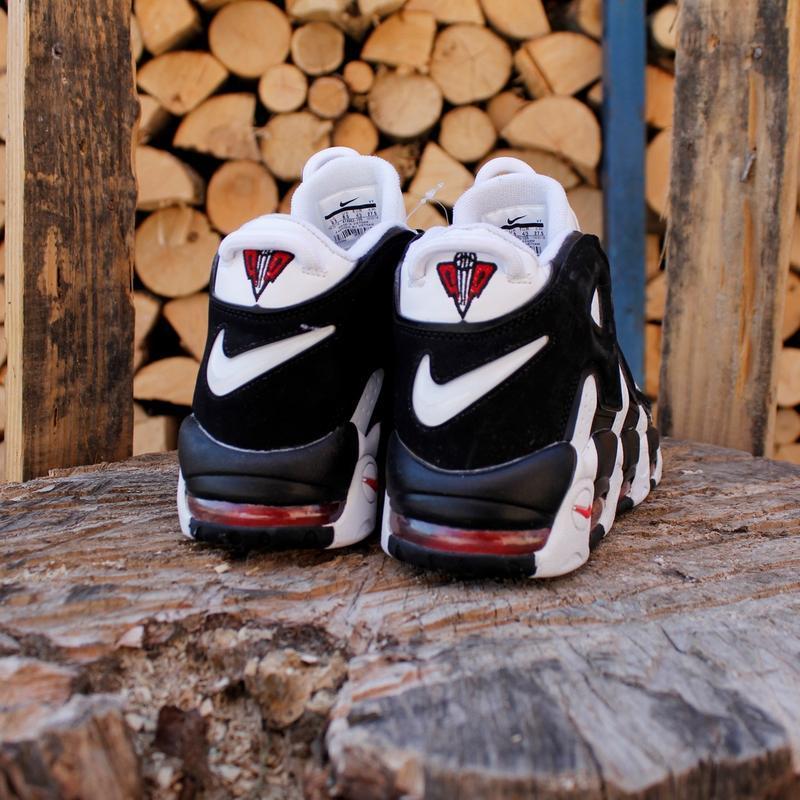 Шикарные  кроссовки унисекс  nike air more uptempo - Фото 4