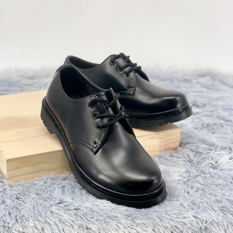 Шикарные женские туфли dr.martens 1461mono black