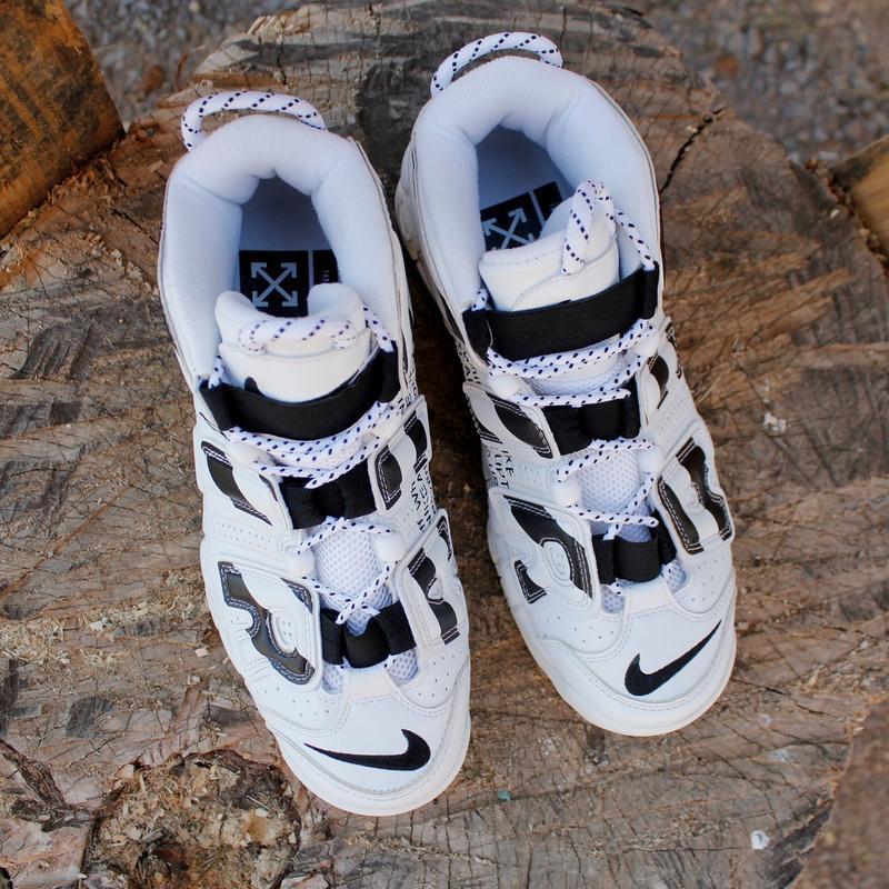 Шикарные унисекс кроссовки nike air more uptempo - Фото 3