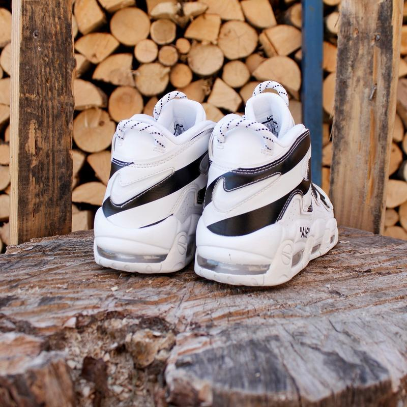 Шикарные унисекс кроссовки nike air more uptempo - Фото 4