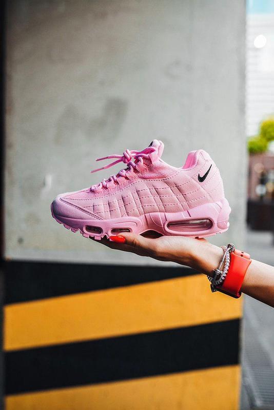 """Шикарные женские кроссовки nike air max 95 """"pink"""""""