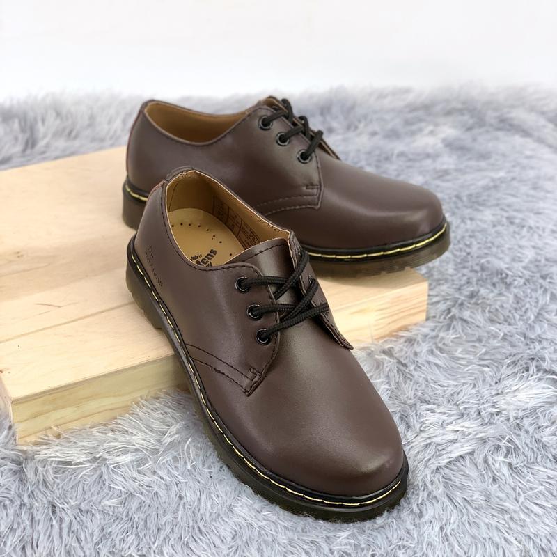 Шикарные женские туфли dr.martens brown