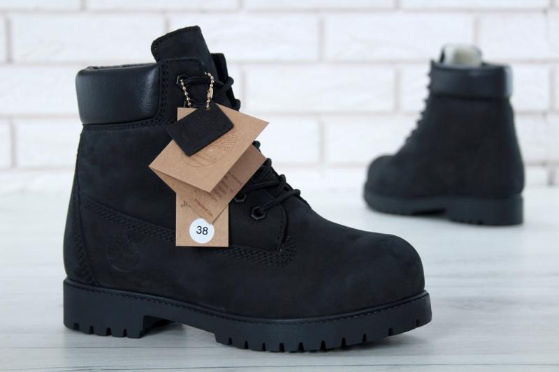 Шикарные женские зимние ботинки timberland boots - Фото 3