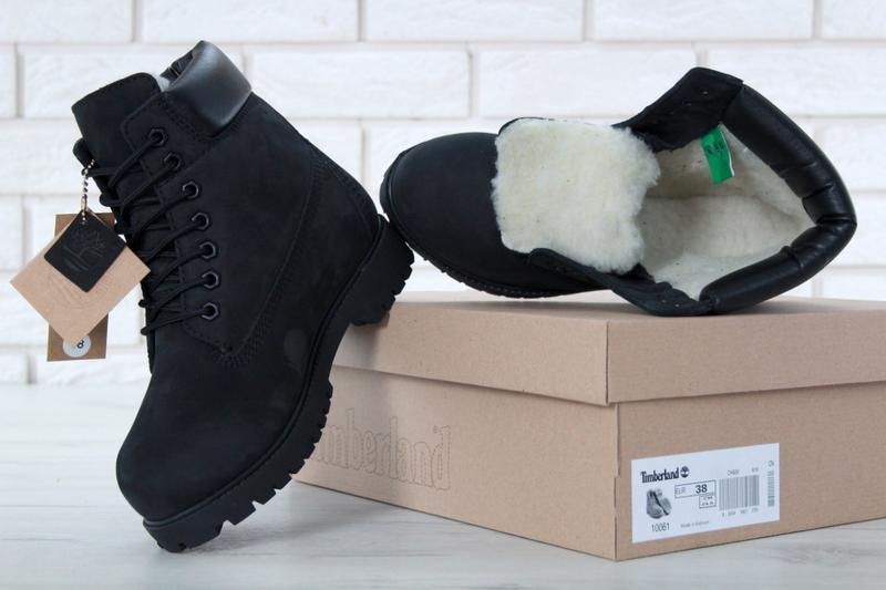 Шикарные женские зимние ботинки timberland boots - Фото 4