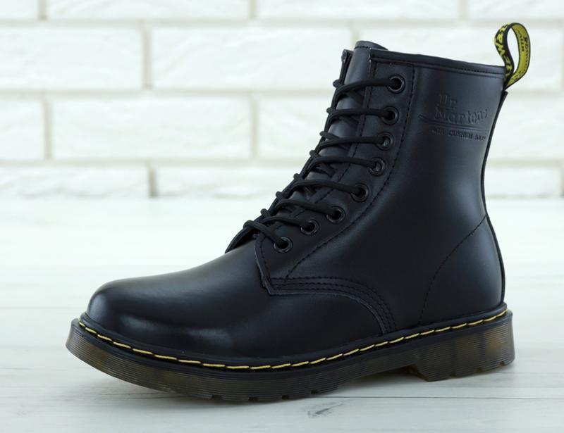 Шикарные зимние женские ботинки dr.martens