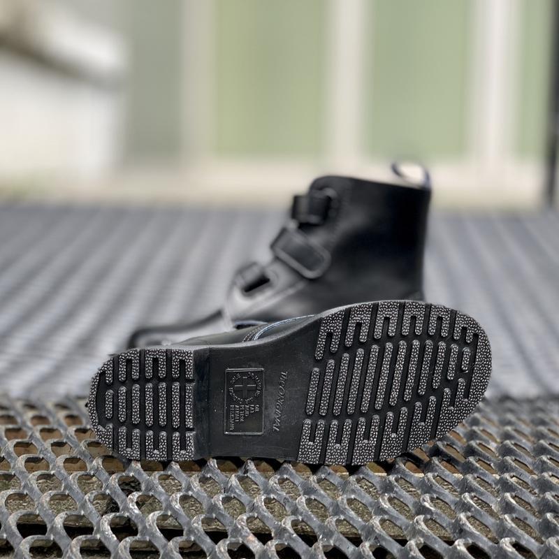 Шикарные женские ботинки dr.martens на липучках - Фото 4