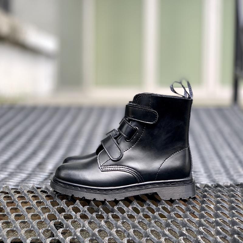 Шикарные женские ботинки dr.martens на липучках - Фото 5