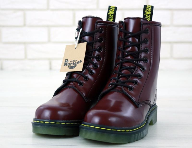 Шикарные женские зимние ботинки dr.mertens