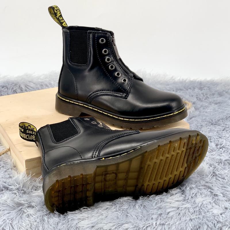 Шикарные женские ботинки dr.martens  1460 на молнии