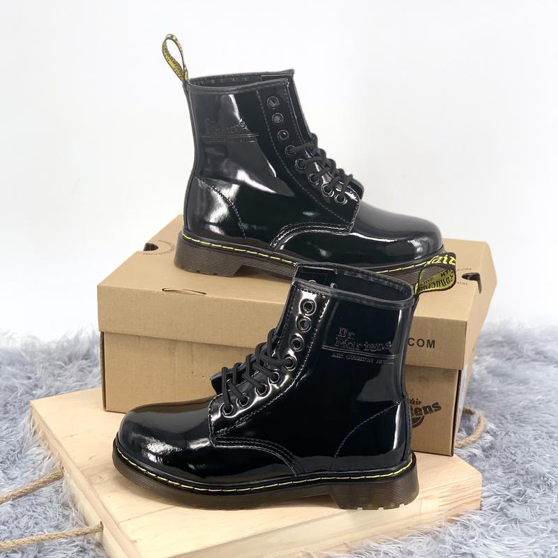 Шикарные женские ботинки dr.martens 1460 - Фото 2