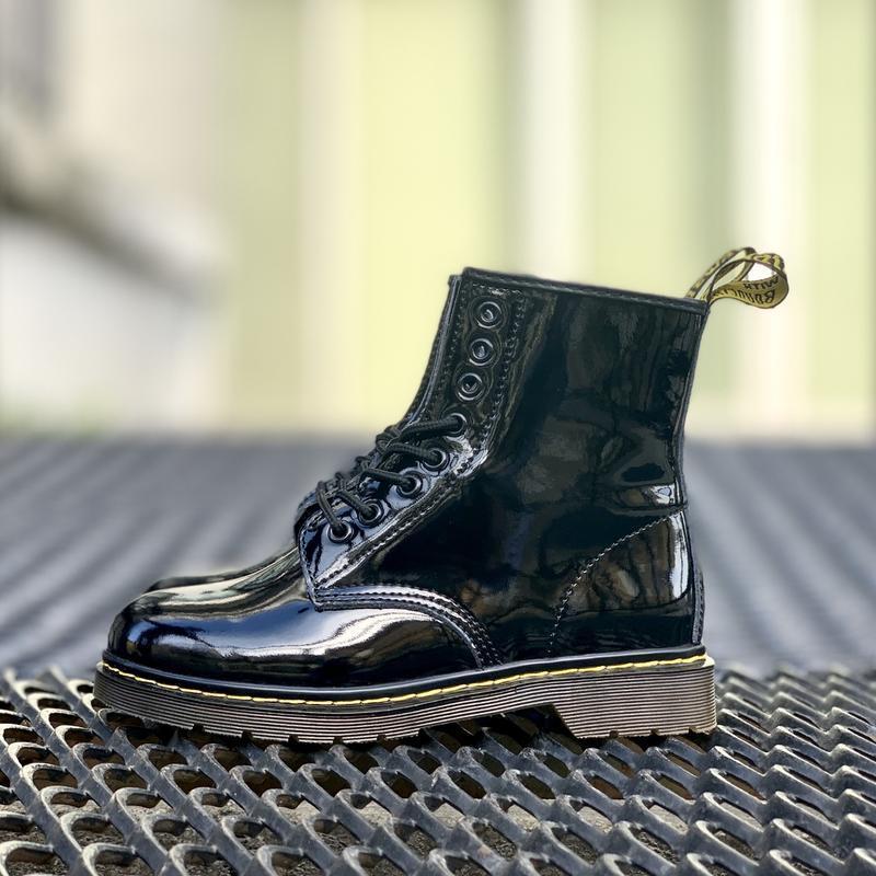 Шикарные женские ботинки dr.martens 1460 - Фото 3