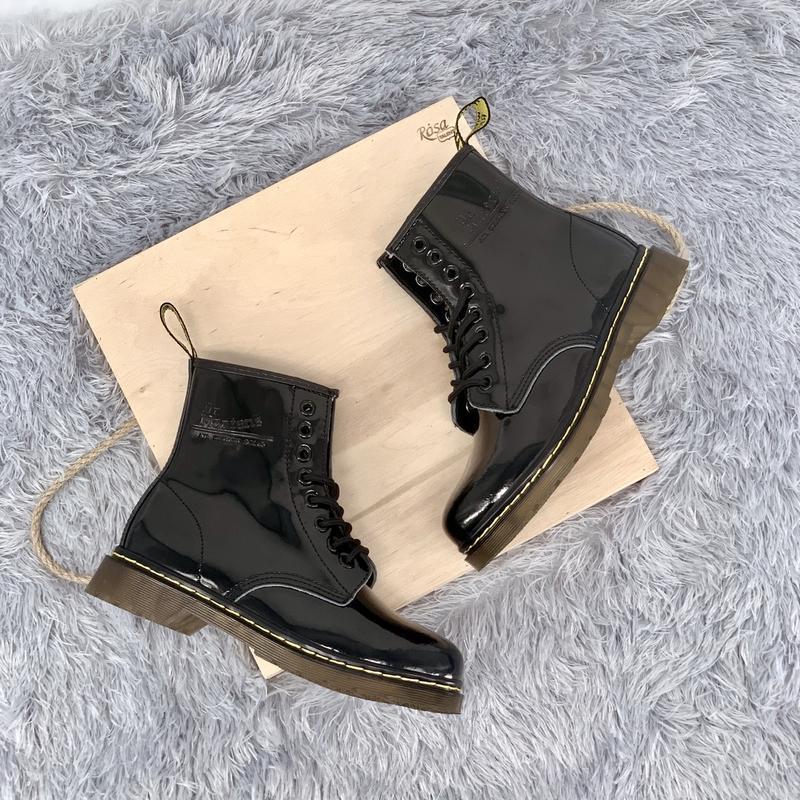 Шикарные женские ботинки dr.martens 1460 - Фото 4