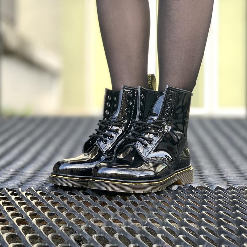 Шикарные женские ботинки dr.martens 1460 - Фото 5