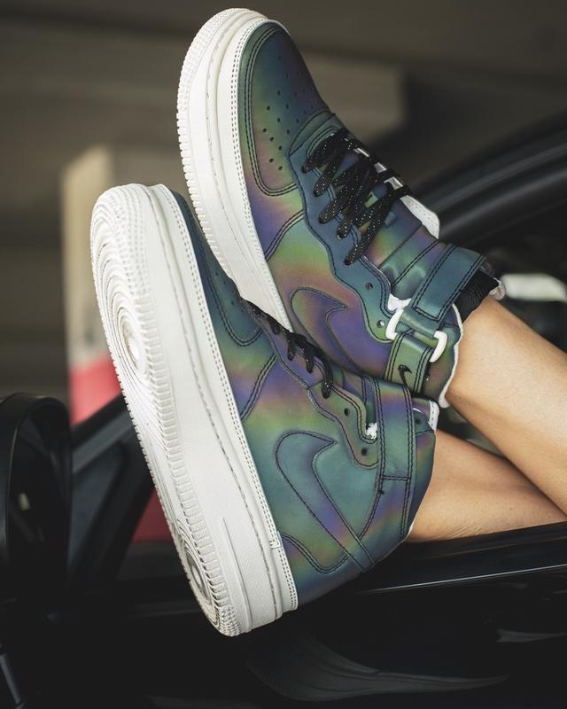 Шикарные женские кроссовки nike air force high